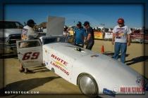 Driver: Bill Lattin, Lattin & Stevens, 167.857 mph (record)