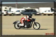 Rider: Wayne Kolden, Spirit Scout, 157.481 mph