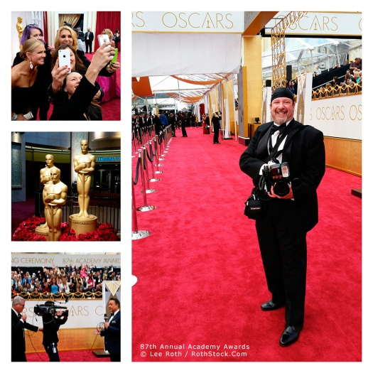 Red Carpet Atmosphere at the 87th Annual Academy Awards®