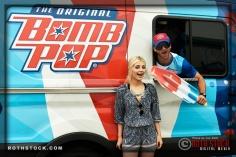 """Bomb Pop """"Behind the Scenes"""" / Social Media Event"""