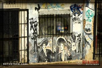 Street Scenes in Mariachi Plaza