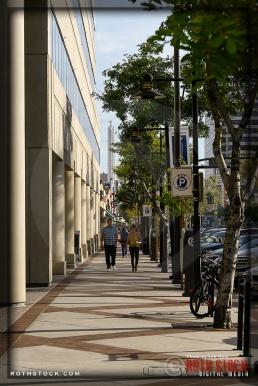 Street Scenes in Downtown Glendale, California