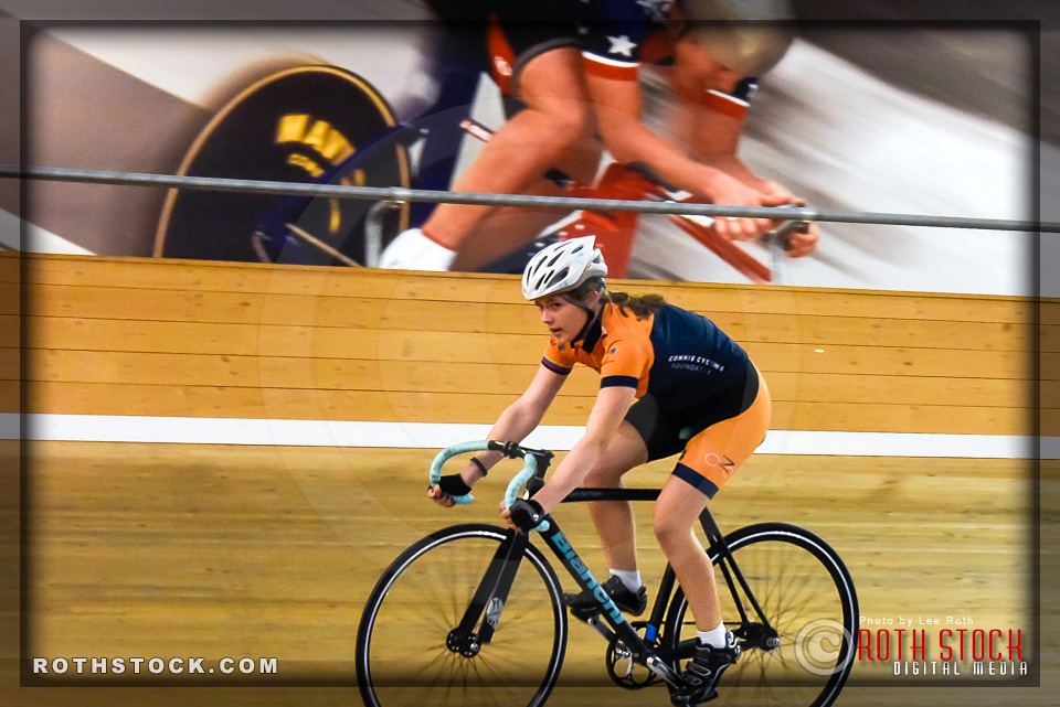 Cyclist Katie Russalov