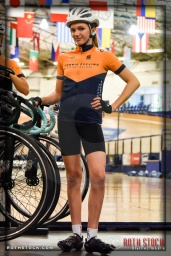 Cyclist Kira Russalov