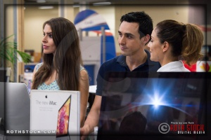 Actors Kristina Jiminez, Beto Ruiz and Abby Gavino