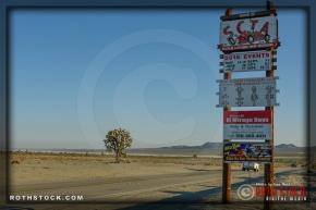 El Mirage Dry Lake near Adelanto, California