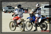 Race camp atmosphere at SCTA - Southern California Timing Association's Land Speed Races at El Mirage Dry Lake
