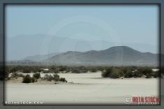 Desert atmosphere at SCTA - Southern California Timing Association's Land Speed Races at El Mirage Dry Lake