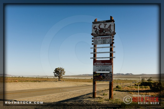 Entrance to El Mirage Dry Lake
