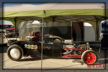 SHP Racing's entry in the pit area