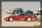 Driver David Kennedy of Kennedy Racing on his 134.066 mph run