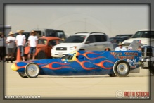 Driver Mark Vigeant of Rice Vigeant Racing starts his 186.556 mph run