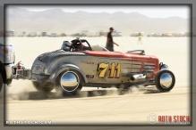 Driver Chet Thomas of Thomas & Augusta Racing on his 191.101 mph run