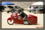 Rider Tom Foley of Foley Racing did not finish his run