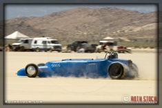 Driver Joel Wirth of Empire Special on his 183.013 mph run