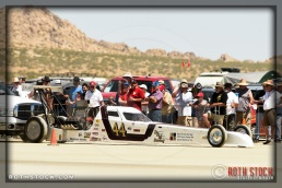 Driver Fred Dannenfelzer of DRM Racing did not finish his run