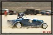 Driver Tony Dincau of Dincau & Dincau on his 156.420 mph run