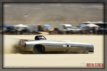 Driver Gerard Collier of KKM Racing on his 185.523 mph run