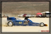 Driver Burl Brown of Texas Justice VII on his 165.707 mph run