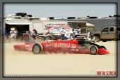 Driver Donnie Hicks of Zoom Zoom Racing did not finish his run