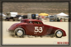 Driver Sam Buck of Creel & Buck on his 131.365 mph run