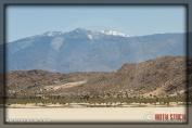 Snowcapped Mount San Antonio in the San Gabriel Mountain Range
