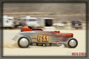 Driver John Beck of Vintage Hot Rod on his 167.518 mph run
