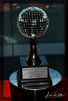 Salsa Dance Party Trophies