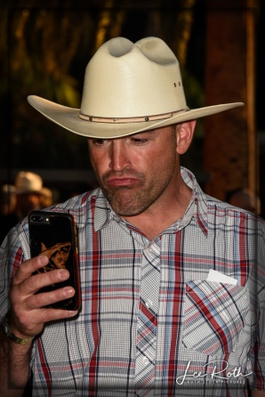 Cowboy Chic ... With a Cell Phone!