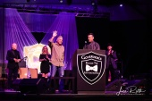 Nevada Governor Brian Sandoval (at podium) Introduces Sheriff Joe Lombardo (waving)