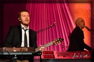 (L-R) Musicians Danny Rader and Nathan Barlowe