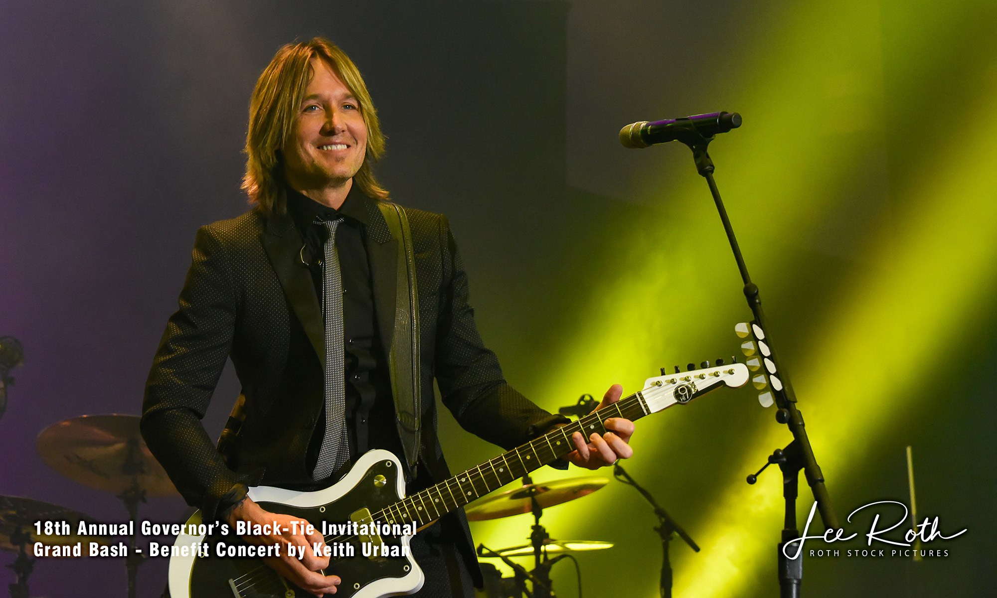 18th Annual Governor's Black Tie Invitational Benefit Concert by Keith Urban