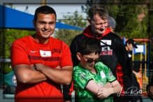 (L-R) Enrique: UNLV, Tyler: Team Barracudas and Coach Rich: UNLV Rebels