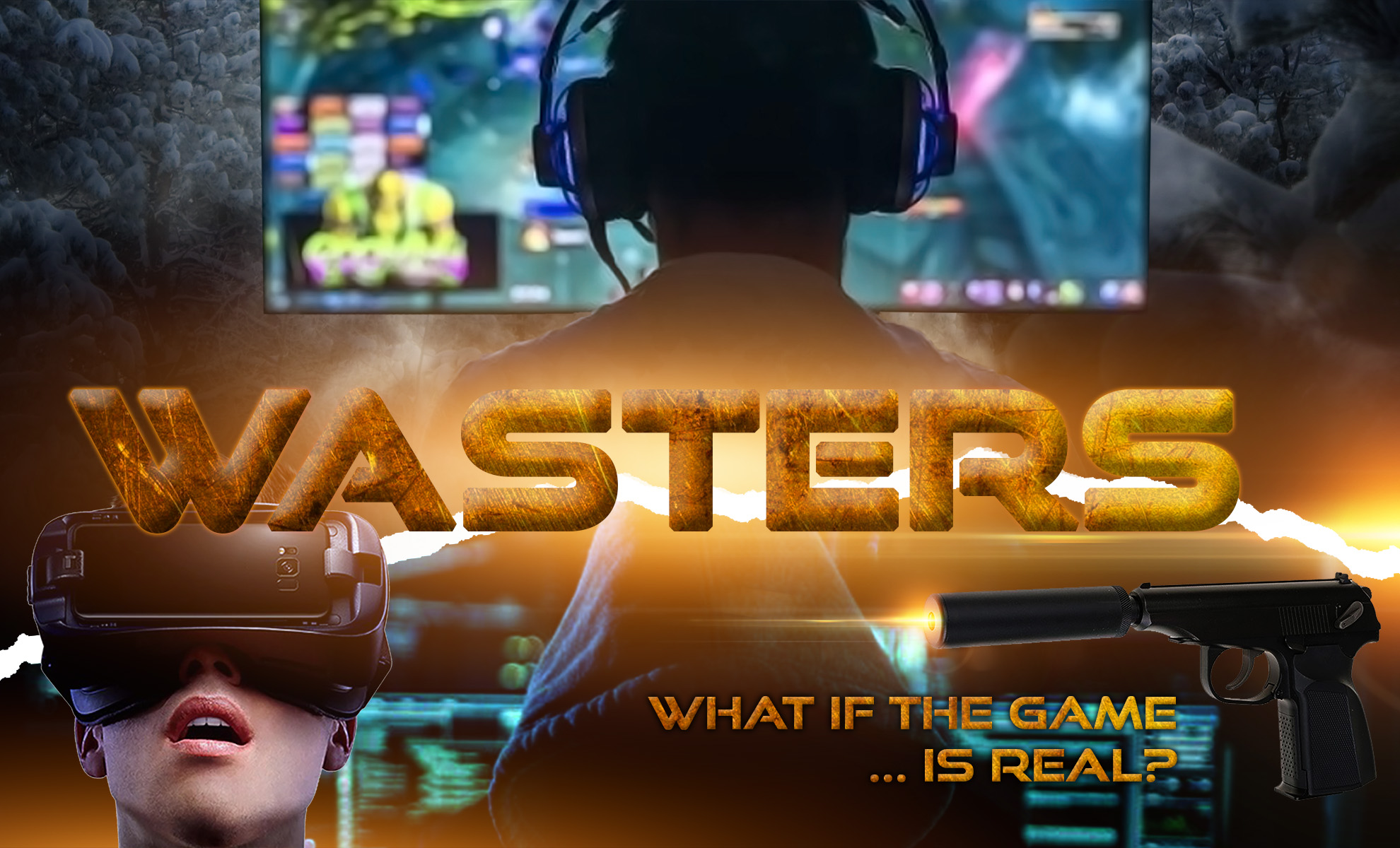Wasters: What If The Game ... Is Real?